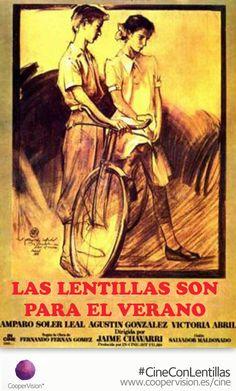 """#CineConLentillas """"Las Lentillas son para el verano"""" y si quieres una entrada gratis visita http://www.coopervision.es/cine"""