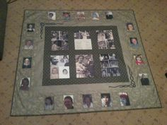 Photo quilt for my parents 50th wedding anniversary