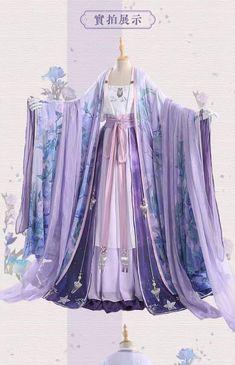 Chinese Traditional Costume, Traditional Dresses, Mode Kimono, Chinese Clothing, Anarkali Dress, Fantasy Dress, Kawaii Clothes, Hanfu, Asian Fashion