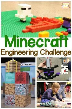 We were able to experience hands-on learning fun with the Minecraft engineering class taught at the National Video Game Museum by Play-Well TEKnologies. Minecraft Classroom, Minecraft Activities, Minecraft Party, Minecraft Challenges, Minecraft School, Classroom Décor, Minecraft Room, Minecraft Crafts, Minecraft Furniture