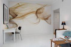 Rebel Walls, Smoke. #rebelwalls #wallpaper #wallmurals http://rebelwalls.com/wallpaper/art/smoke/