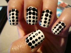 Nail Art Polka Dot Nails Art Has Become Very Popular Lately. This Type Of . Polka Dot Designs For Nails Image - Best gallery of beautiful nail art designs in 2018