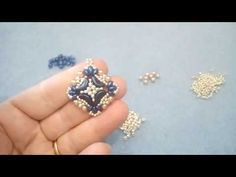 Tutorial Orecchini Marianna (57) - YouTube