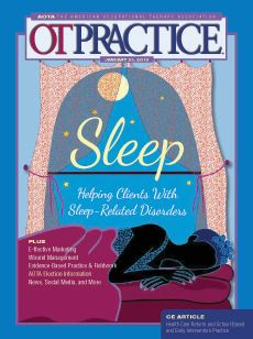 Sleep OTPractice magazine 1/21/13 issue