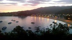 Sunset at Kaiteriteri Beach, Golden Bay, NZ