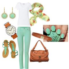 Time for Mentha, created by skopeloz on Polyvore
