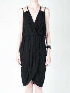 Jersey Dress in Black
