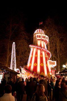 Winter Wonderland, London, UK