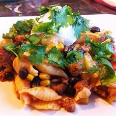 Zesty Mexican Pasta - Allrecipes.com...the reviews are really good for this, I'm going to have to try it