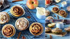 Update LOWCARB Almás-Fahéjas Csiga Muffin, Breakfast, Food, Morning Coffee, Essen, Muffins, Meals, Cupcakes, Yemek