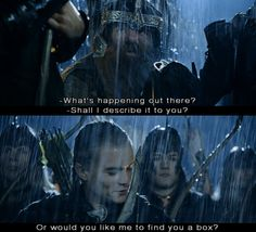 """I loves this line from """"The Two Towers""""."""