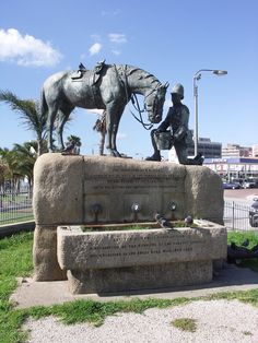 Second Boer War Horse Memorial, Port Elizabeth, Eastern Cape, South Africa
