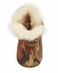 { UGG Australia Infant Caden Camo Suede Bootie, Olive } Ugg Snow Boots, Ugg Boots Cheap, Ugg Winter Boots, Half Pint, Camo Baby Stuff, Teen Fashion, Fashion Trends, Woman Shoes, Stylish Kids