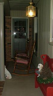 Our Back Porch: December 2008