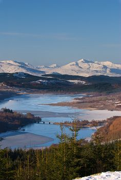 Loch Garry, Scotland - So beautiful! One day I'll get there!
