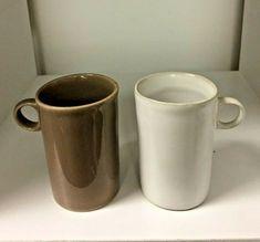 Pair Of Vintage Bennington Pottery Mugs Espresso Cups David Gill Design 1370 | eBay