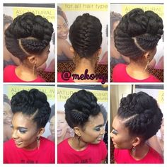Natural hair glory. — Follow for more styles...