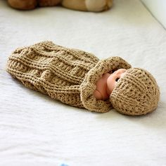 Baby Cocoon and Hat Set - RAVELRY