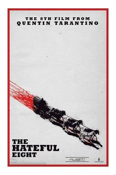 The Hateful Eight - Quentin Tarantino - Teaser - Official Poster. Official Merchandise. Size: 61cm x 91.5cm. FREE SHIPPING
