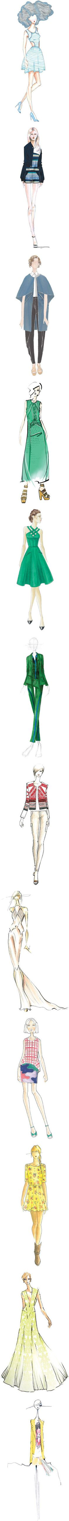 """""""Spring 2013 Designer Preview"""" by polyvore-editorial on Polyvore"""