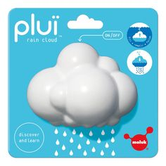 Pluï Rain Cloud White Moluk Toys and Hobbies Children Toys For Boys, Kids Toys, Friend Moving Away Gifts, Hobby Kits, Rain Clouds, Baby List, Activity Toys, Bath Toys, Toys Shop