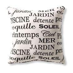 Soleil Black Outdoor Throw Pillows