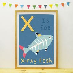 X-Ray Fish poster   Paper Penknife