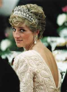 Princess Diana.  This board is usually reserved to pin all sorts of artists but I've decided to put a few of the Royals here.  Besides I don't know where else to put 'em.  This is as good as anywhere.  ^(,^