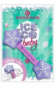 ice ice baby - cable clip 01 dancing on ice - essence cosmetics Essence Cosmetics, Ice Dance, Ice Ice Baby, Ice Princess, Snowflake Designs, Press Release, Winter Season, Cable, How To Make