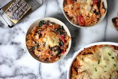 all things katie marie: Kale & Roasted Red Pepper Pasta Bake
