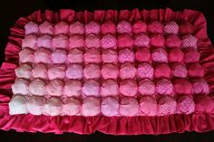More Bubble Blankets!   Awaiting Ada  Full directions and lots of color ideas. Great gift for baby!