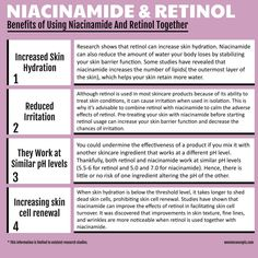 Niacinamide Benefits, What Is Retinol, Face Skin Care, Anti Aging Skin Care, Mental Health, Health Care, Beauty Tips, Beauty Hacks, Beauty