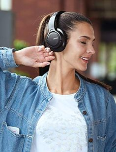 Mpow Bluetooth Headphones Over Ear, 18 Hrs Comfortable Wireless Headphones w/Bag, Rechargeable HiFi Stereo Headset, Headphones with Microphone for Cellphone Tablet Computer Headphones, Headphones With Microphone, Noise Cancelling Headphones, Bluetooth Headphones, Over Ear Headphones, Hifi Stereo, Headset, Cell Phone Accessories, Handbags