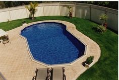 Sterns Above Ground Pools. Sunk into the ground. Above Ground Swimming Pools, Above Ground Pool, In Ground Pools, Backyard Pools, Garden Ideas, Sink, Outdoor Decor, Inspiration, Beautiful
