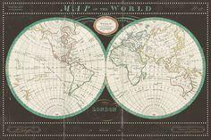 ©Sue Schlabach Torkington's World Map Slate