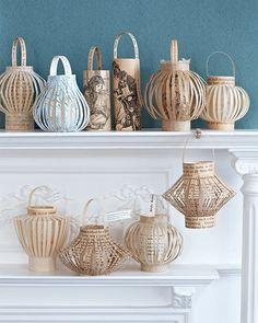 Paper Lanterns - http://www.sweetpaulmag.com/crafts/paper-lanterns #sweetpaul
