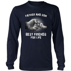 Father & Son Fist Bump Best Friends for Life Matching TShirt