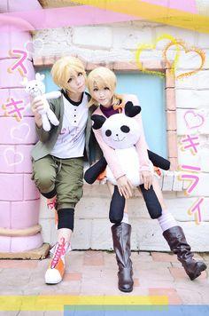 Kagamine Rin & Len - Suki Kirai Cosplay