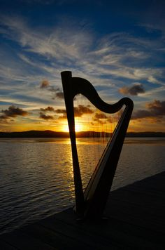 Sunset Harp 02 by waznitch.deviantart.com on @deviantART