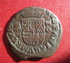 16 Maravedís 1662 Granada Granada, Finding New Friends, Seals, Coins, Facebook, Block Prints, World, Badges, Money