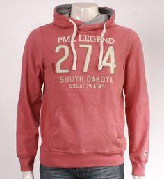 PME Legend Pall Mall Sweater in roze - NummerZestien.eu