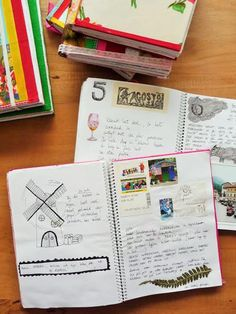Seaweed Kisses: The Journal Diaries- Franka's journals | journal and mood board inspiration |  digital media arts college | www.dmac.edu | 561.391.1148