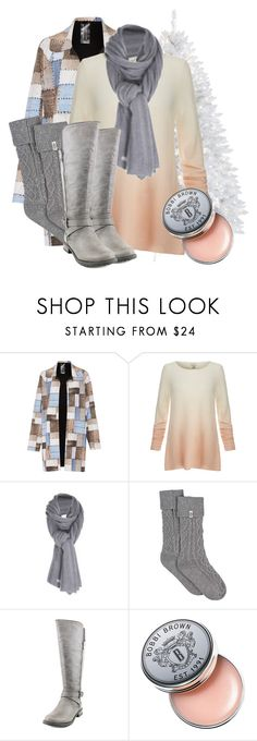 """a set for your heart"" by mmspls ❤ liked on Polyvore featuring Norma Kamali, Joie, Care By Me, UGG, G by Guess and Bobbi Brown Cosmetics"