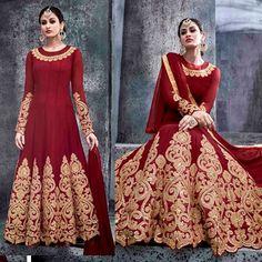 Bollywood Designer Party Wear EID Festival Anarkali Traditional Shalwar Kameez  #Handmade #AnarkaliShalwarKameez