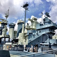 Battle ship Wilmington NC