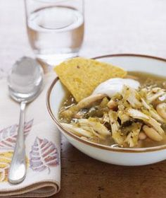 Southwestern Chicken Soup recipe I've made this soup MANY times.  Delicious and EASY.