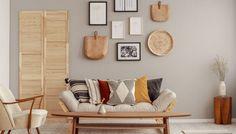 12 trenduri de amenajări interioare pentru redecorarea de vară Hygge, Entryway Bench, Throw Pillows, Bed, Furniture, Home Decor, Cabin, Cushions, Homemade Home Decor