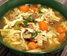 Just in time for cold and flu season, this hearty, perfectly-flavored chicken soup comes together in under 30 minutes.