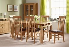 Ravenna Dining Table & 6 Chairs
