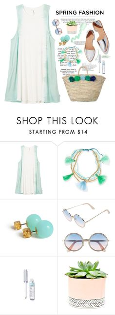 """""""Sweet Smell of Spring"""" by bamaannie ❤ liked on Polyvore featuring Kershaw, RVCA, Essie, Lonna & Lilly, Sunday Somewhere and Hostess"""